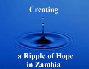 A Ripple of Hope, Sacred Heart Parish projects in Zambia